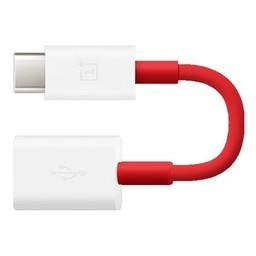 OnePlus 3 / 3T / 5 / 5T / 6 Originele Type-C naar USB2.0 OTG Kabel