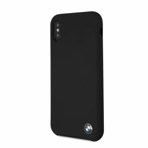 BMW Originele Signature Back Cover Hoesje voor de Apple iPhone X / XS - Zwart