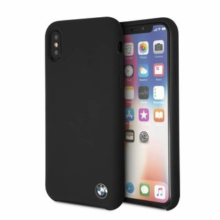 Originele Signature Back Cover Hoesje voor de Apple iPhone X / XS - Zwart
