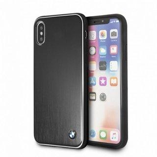Originele Brushed Aluminium Back Cover Hoesje voor de Apple iPhone X / XS - Zwart