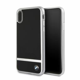 BMW Originele Aluminium Signature Back Cover Hoesje voor de Apple iPhone X / XS - Zilver