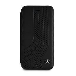 Mercedes-Benz Originele Upward Wave Bookcase voor de Apple iPhone 6 / 6S / 7 / 8 - Zwart