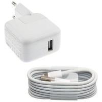 Apple 10W USB Originele Power Adapter oplader met 100cm Lightning kabel