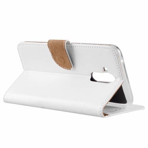 Bookcase Huawei Mate 20 Lite hoesje - Wit