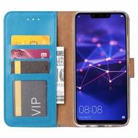 Bookcase Huawei Mate 20 Lite hoesje - Blauw