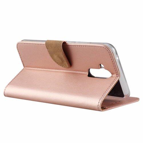 Bookcase Huawei Mate 20 Lite hoesje - Rosé Goud