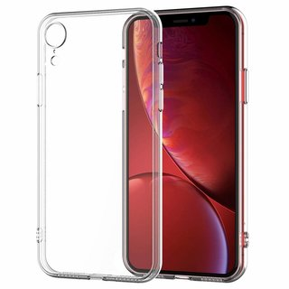 Apple iPhone XR siliconen (gel) achterkant hoesje - Transparant