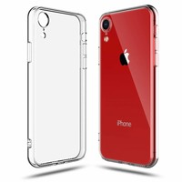 Apple iPhone XR siliconen (gel) achterkant hoesje - Transparant