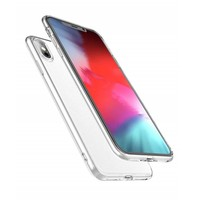 Apple iPhone XS Max siliconen (gel) achterkant hoesje - Transparant
