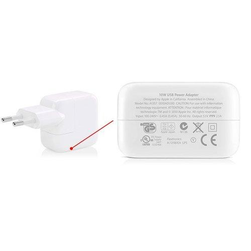 Apple 10W USB Originele Power Adapter oplader met 1 Meter Lightning kabel