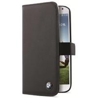 BMW Originele Signature Premium Bookcase hoesje voor de Samsung Galaxy S4 - Zwart