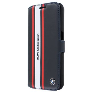 Originele Motorsport Collection Bookcase hoesje voor de Samsung Galaxy S6 - Donkerblauw