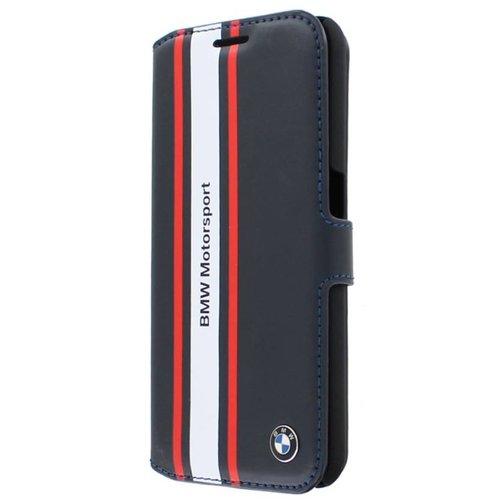 BMW Originele Motorsport Collection Bookcase hoesje voor de Samsung Galaxy S6 - Donkerblauw