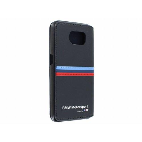 BMW Originele M-Sport Classic Collection Bookcase hoesje voor de Samsung Galaxy S6 - Donkerblauw