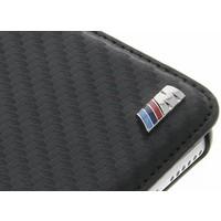 BMW Originele M-Sport Carbon Collection Bookcase hoesje voor de Apple iPhone 6 Plus / 6S Plus - Zwart
