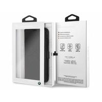BMW Originele Hexagon Folio Bookcase Hoesje voor de Apple iPhone XS Max - Zwart