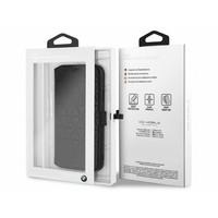 BMW Originele Hexagon Folio Bookcase Hoesje voor de Apple iPhone XR - Zwart
