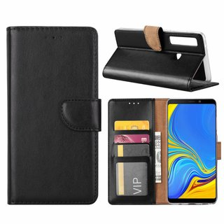 Bookcase Samsung Galaxy A9 2018 hoesje - Zwart