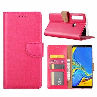 Bookcase Samsung Galaxy A9 2018 hoesje - Roze