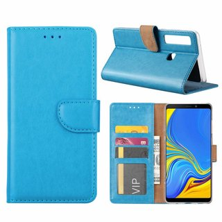 Bookcase Samsung Galaxy A9 2018 hoesje - Blauw