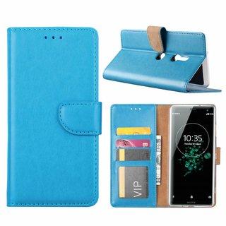 Bookcase Sony Xperia XZ3 hoesje - Blauw