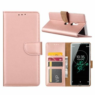 Bookcase Sony Xperia XZ3 hoesje - Rosé Goud