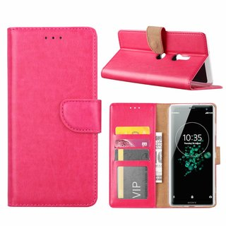 Bookcase Sony Xperia XZ3 hoesje - Roze