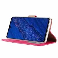 Bookcase Huawei Mate 20 hoesje - Roze