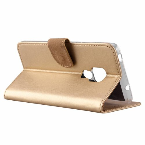 Bookcase Huawei Mate 20 hoesje - Goud