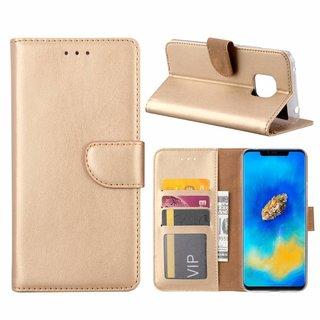 Bookcase Huawei Mate 20 Pro hoesje - Goud