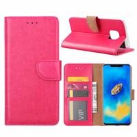 Bookcase Huawei Mate 20 Pro hoesje - Roze