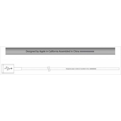 Apple iPhone Originele Lightning naar USB-oplaadkabel 100cm