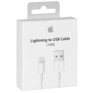 Originele iPhone Lightning naar USB-kabel 1 Meter