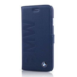 BMW Originele Debossed Logo Folio Bookcase voor de Apple iPhone 6 / 6S - Donkerblauw