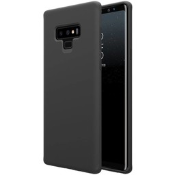 Samsung Galaxy Note 9 siliconen (gel) achterkant hoesje - Zwart