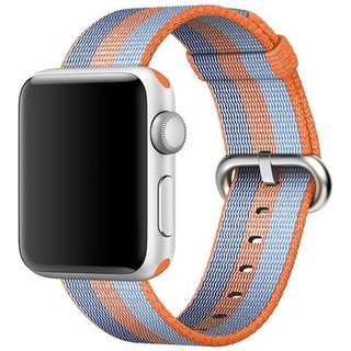 Watch Originele 38mm Geweven Nylon Band - Oranje