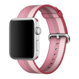 Apple Watch Originele 38mm Geweven Nylon Band - Rood