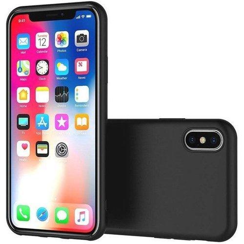 Apple iPhone XR siliconen (gel) achterkant hoesje - Zwart