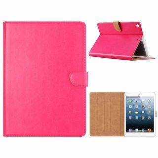 Luxe Lederen Standaard hoes voor de Apple iPad 2017/2018 (9.7 inch) - Roze
