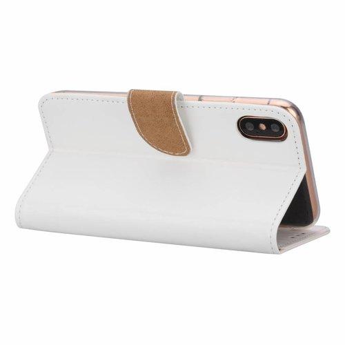 Bookcase Apple iPhone 7 hoesje - Wit