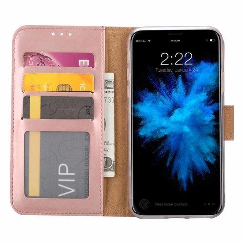 Bookcase Apple iPhone 7 hoesje - Rosé Goud