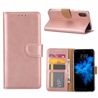 Bookcase Apple iPhone 7 hoesje - Rosé Goud