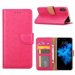 Bookcase Apple iPhone 8 hoesje - Roze