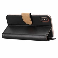 Bookcase Apple iPhone 8 hoesje - Zwart