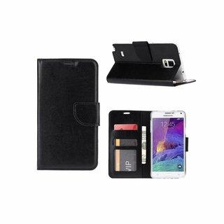 Bookcase Samsung Galaxy Note 4 hoesje - Zwart
