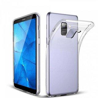 Samsung Galaxy J6 2018 siliconen (gel) achterkant hoesje - Transparant