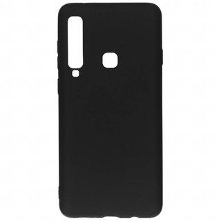 Samsung Galaxy A9 2018 siliconen (gel) achterkant hoesje - Zwart
