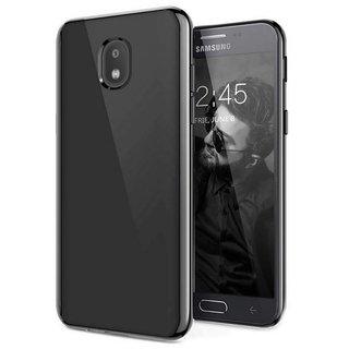 Samsung Galaxy J7 2018 siliconen (gel) achterkant hoesje - Zwart