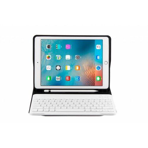 Bluetooth Smart QWERTY Keyboard hoes voor de Apple iPad Air (9.7 inch) - Rosé Goud