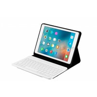 Bluetooth Smart QWERTY Keyboard hoes voor de Apple iPad Air 2 (9.7 inch) - Rosé Goud